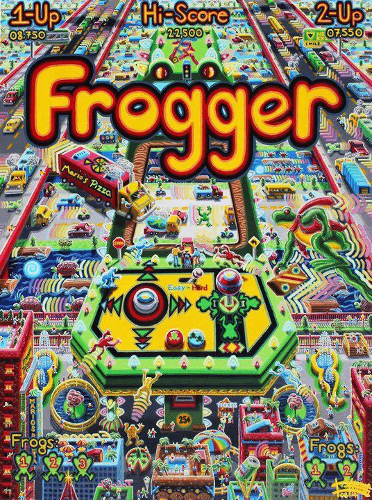 118 Frogger 40x30 Aug 2014 Robert Bukaty KS USA.jpg
