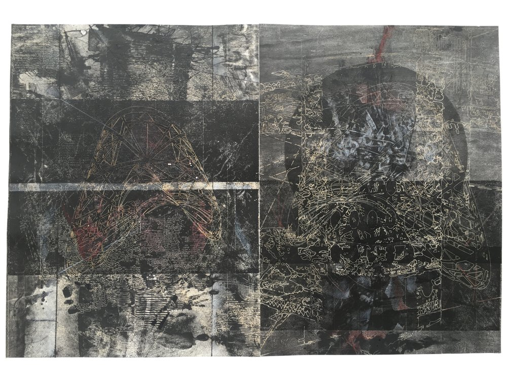 19N,41'26%22_Intaglio, laser engraving, gouache and pencil drawing_16x24%22_2016.jpg