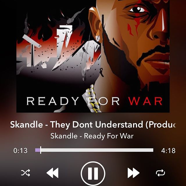 """""""Ready For War"""" on @spinrilla now !! 💯🇬🇧"""