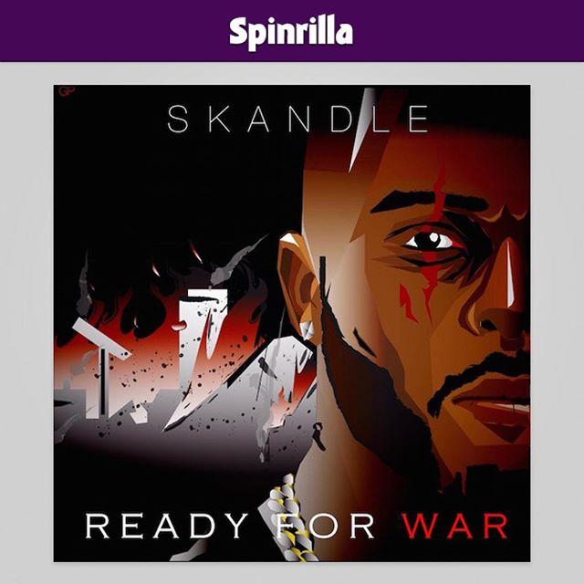 #ReadyForWar Out now on @spinrilla 💯🇬🇧