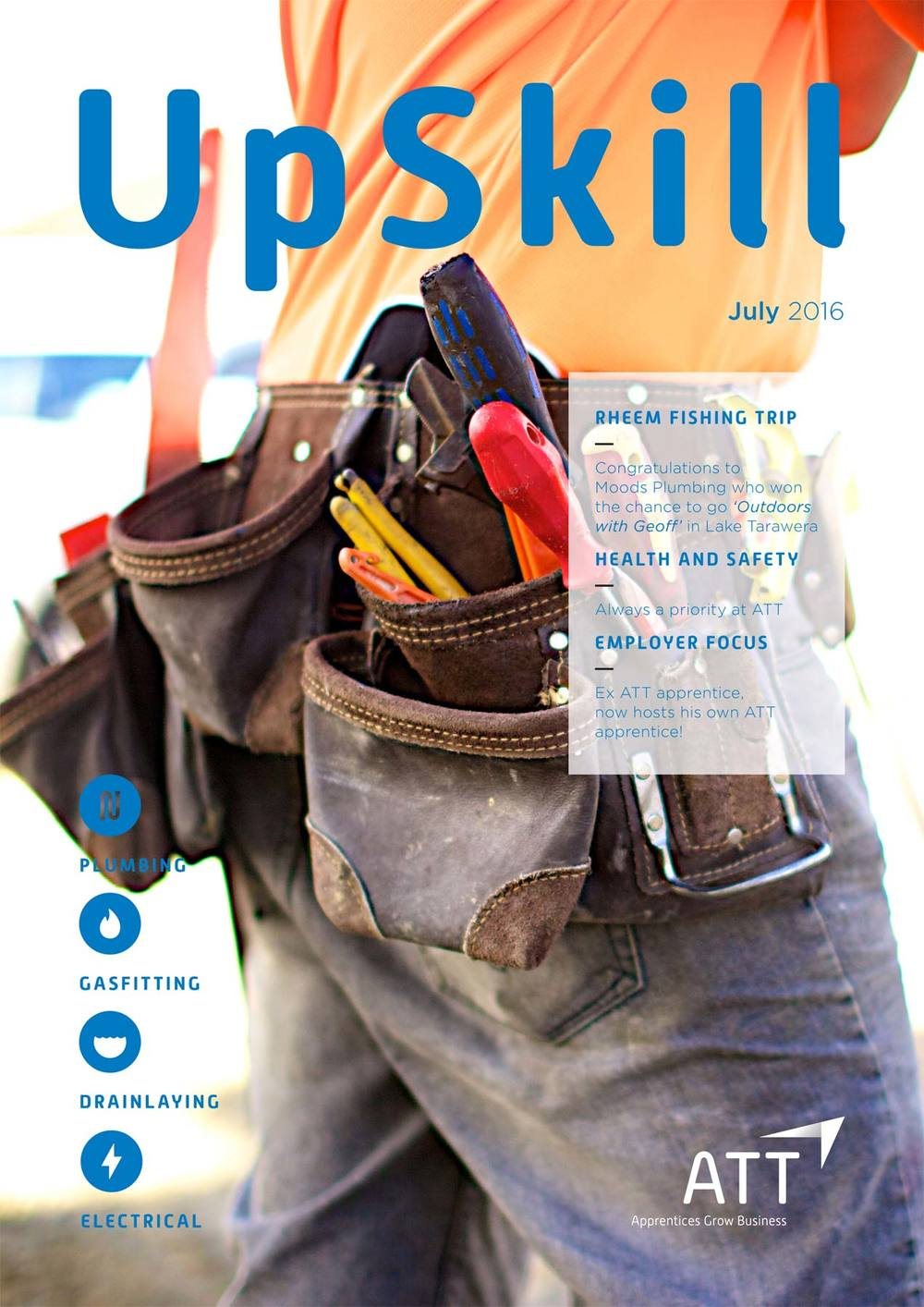 July 2016 Issue of UpSkill from ATT