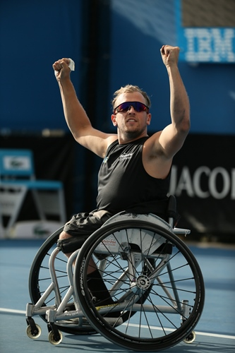 Dylan Alcott - Young Sports Achiever 2003