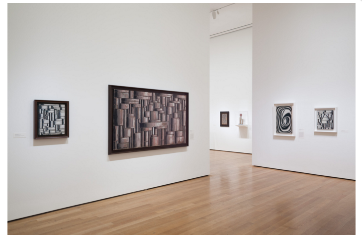 [Installation view of  Joaquín Torres-García: The Arcadian Modern  at The Museum of Modern Art, New York (October 25, 2015–February 15, 2016). Photo by Jonathan Muzikar. © 2015 The Museum of Modern Art, New York