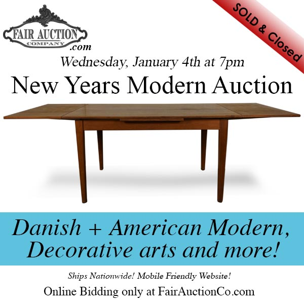 Fair Auction Mid century Modern Auction