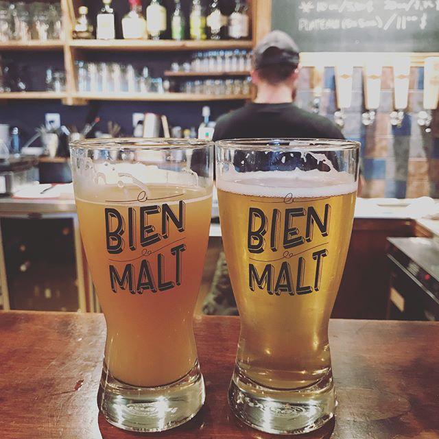 On l'a bien aimé aussi celle-là! #lebienlemalt #rimouski #bieresduquebec #bieres #biereslocales #bierestagram