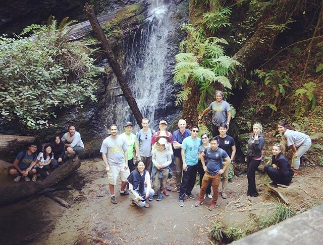 Imprint family taking over the waterfall #imprintgoescamping #hangingwithimprint