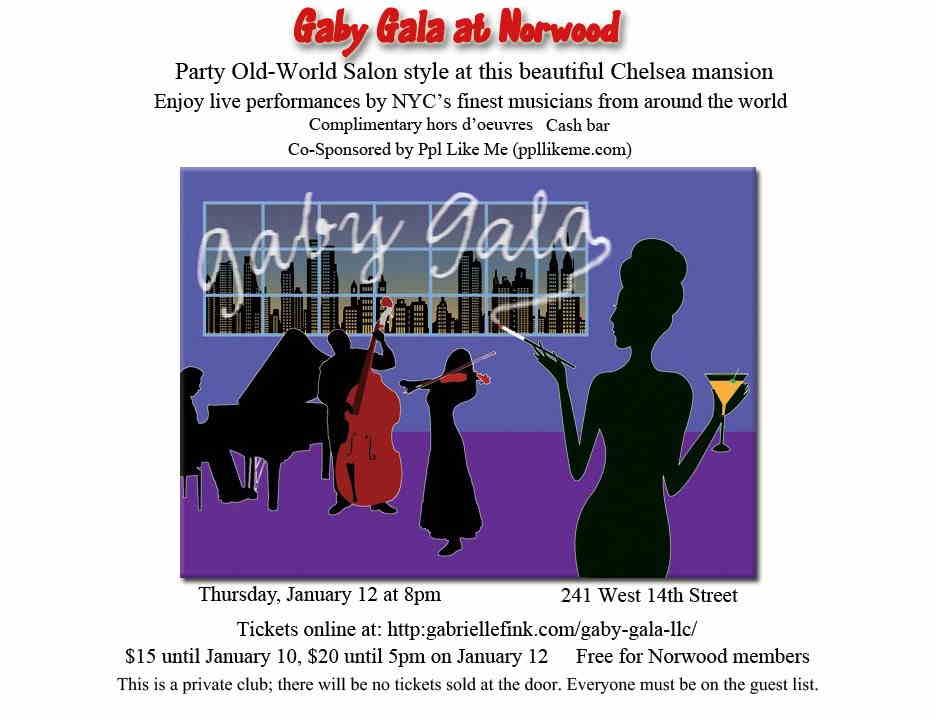 Gaby Gala at Norwood
