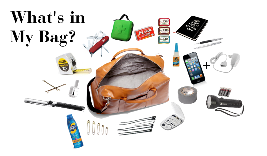 (via What's in My Bag: 10+ Items Every Event Planner Needs!)