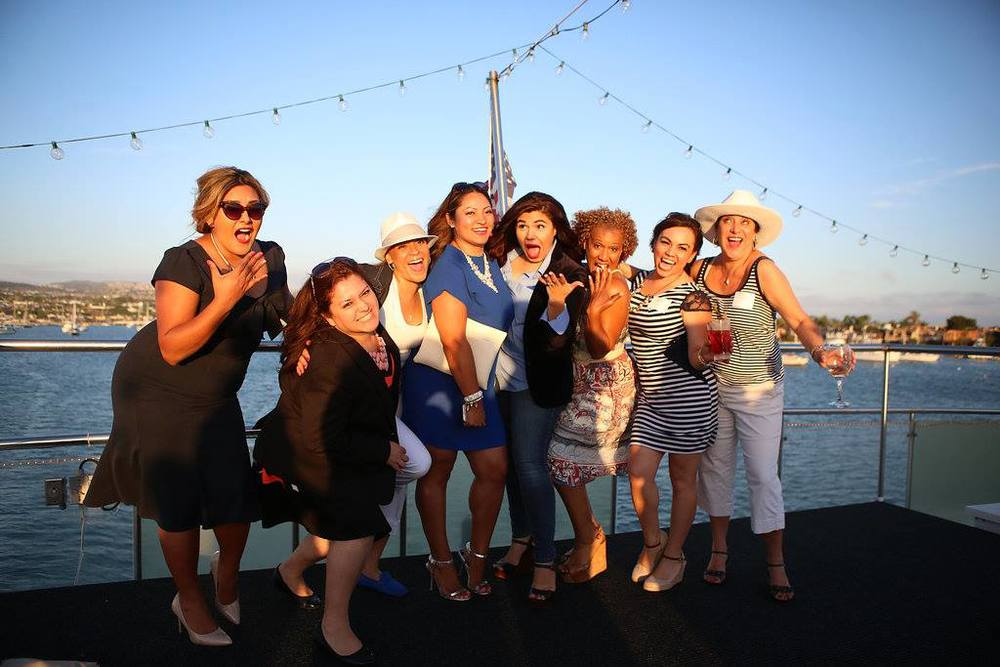 WIPA Social in Newport Beach, CA with Veronica Medrano, Joan Fuller and Jeannie Ward at Hornblower Cruises & Events on their Endless Dreams Yacht.