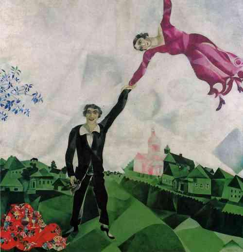 Chagall à la Russie aux ânes et aux autres