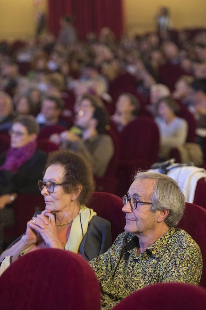 Il regista Jean-Paul Fargier e Geneviève Morgan