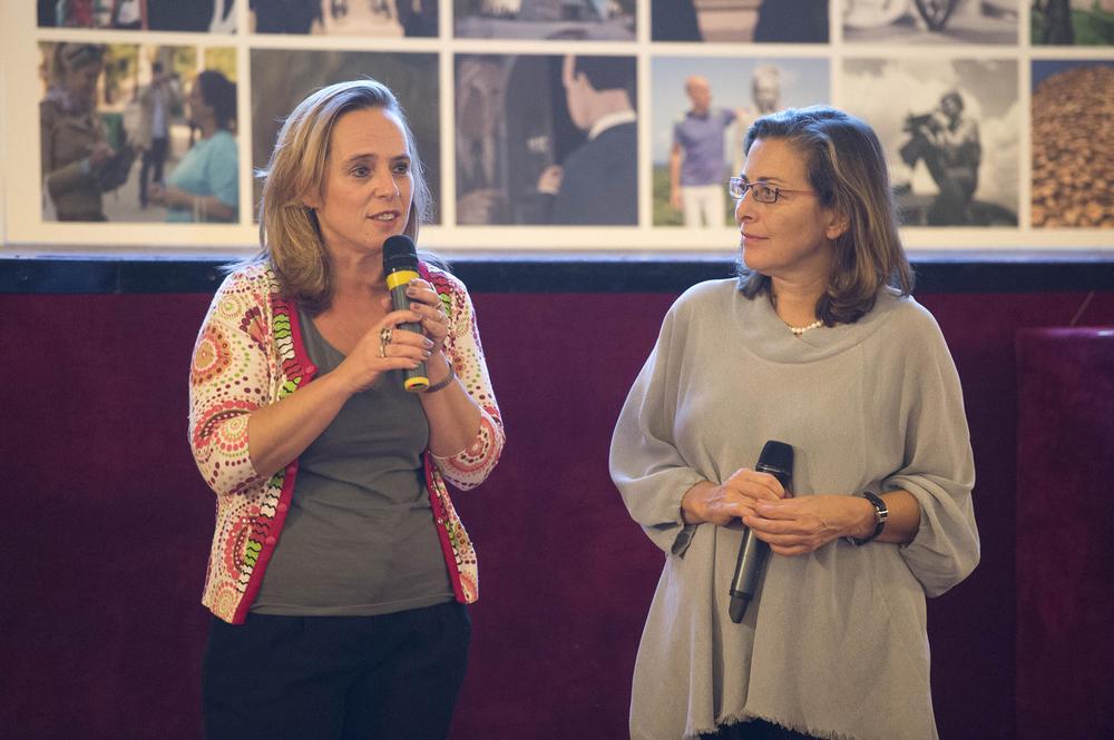 Antonella Di Nocera e Laura Trisorio