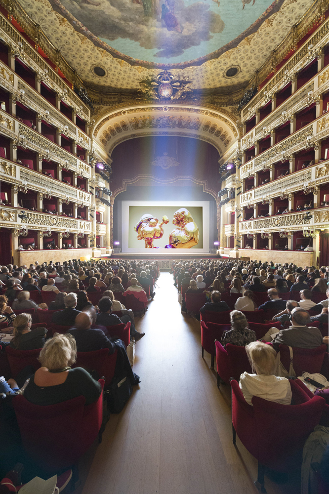 Imagine... Jeff Koons: Diary of a Seducer,  film still, opening Artecinema 2015