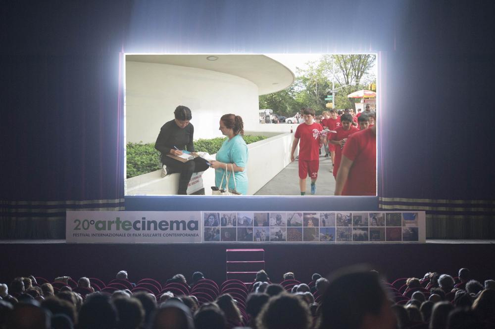 Tania Bruguera: The Francis Effect - ART21 , film still