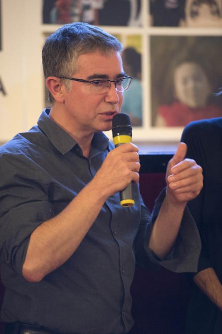 Presentazione del film  Richard Hamilton, dans le reflet de Marcel Duchamp  con il regista Pascal Goblot