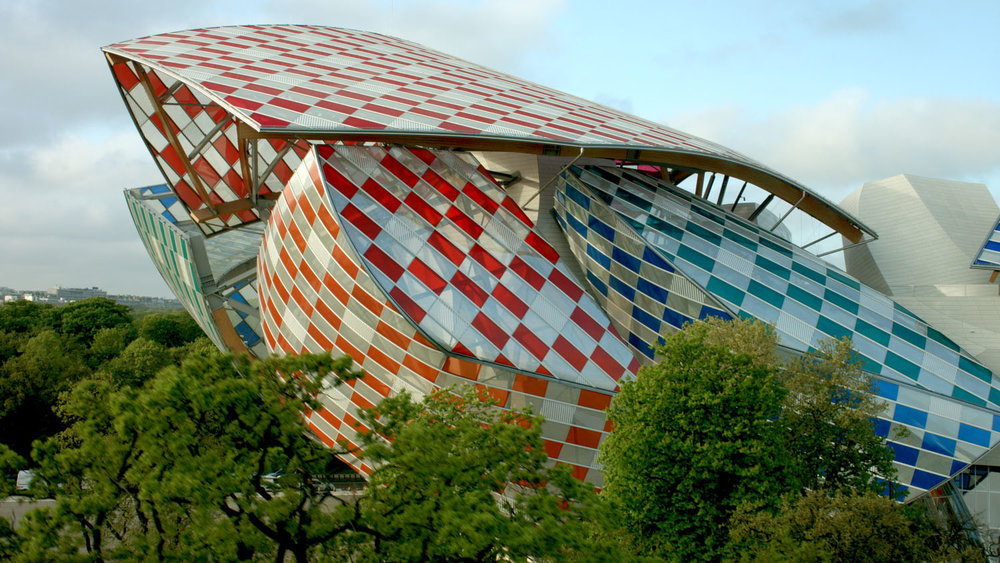 Daniel Buren, L'Observatoire de la lumière , Fondation Louis Vuitton, © 2016 a.p.r.e.s production / Fondation Louis Vuitton