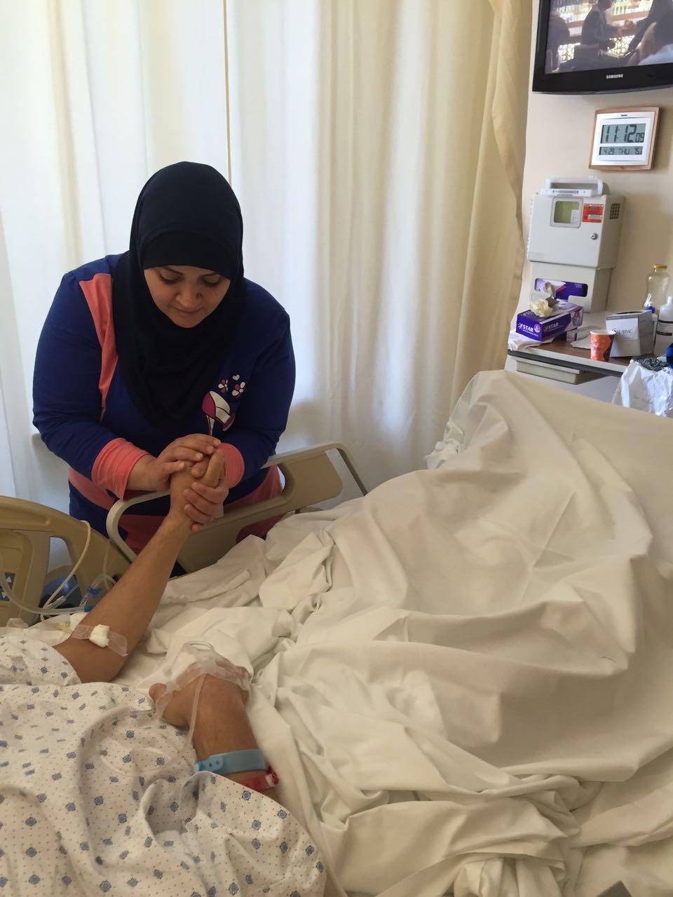 INARA Joud's mother Arwa Damon Syria