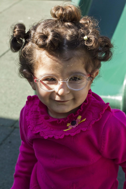 Elena blind Syrian refugee INARA Arwa Damon