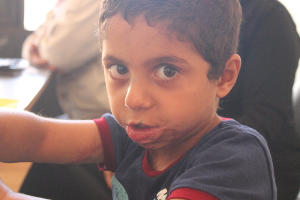 Hatem INARA refugee Syrian child
