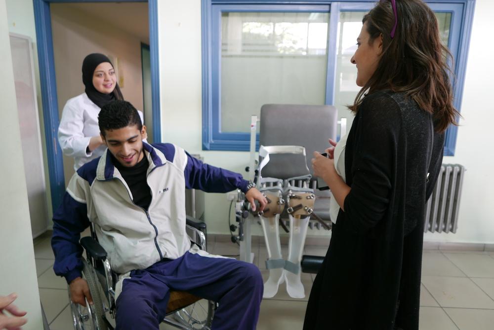 Adnan INARA Syrian refugee sniper