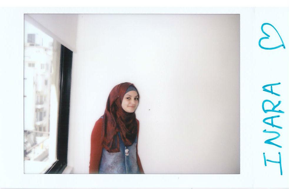 Hamida INARA polaroid Syrian Refugee