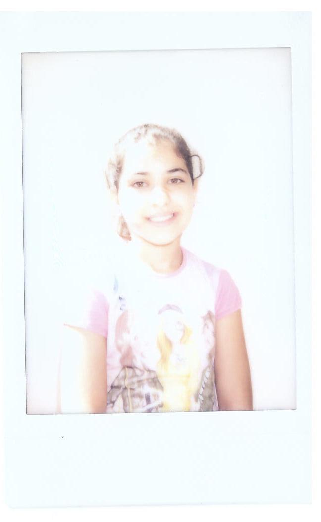 Rend polaroid image syrian refugee INARA Arwa Damon