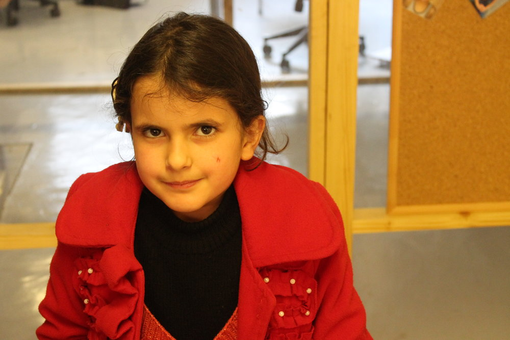 Alia INARA referral Arwa Damon Syrian Refugee Handicap International