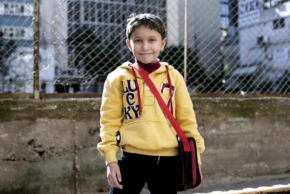 Sary INARA Syrian refugee children Arwa Damon
