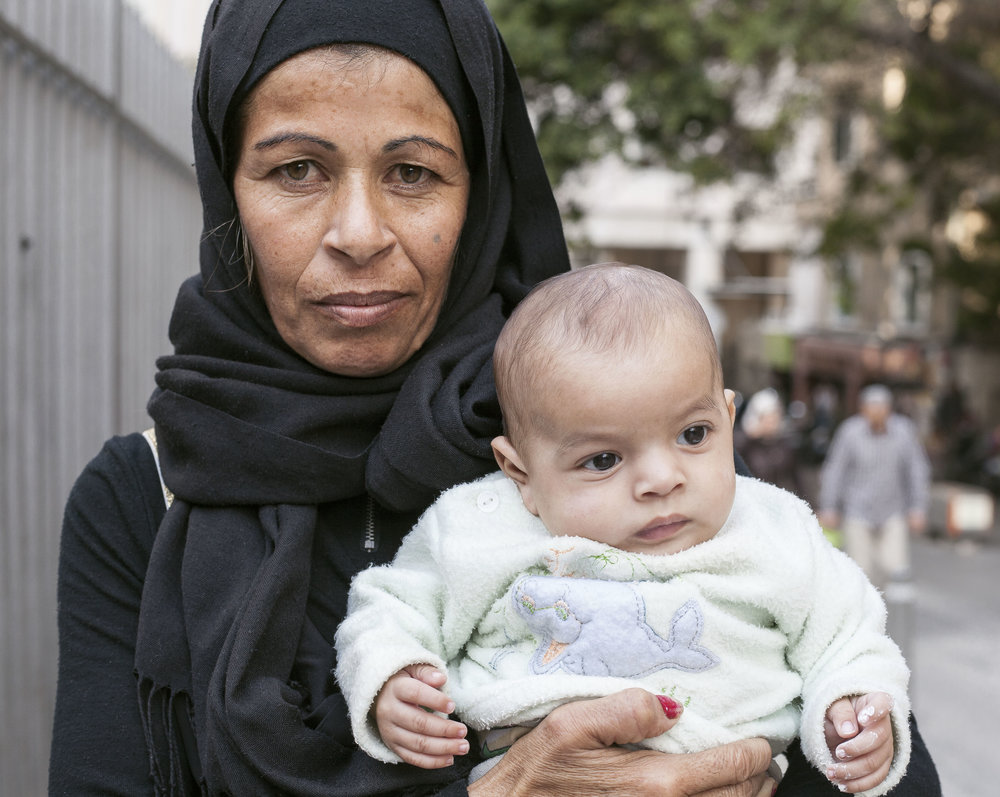 Samara with her son Akram
