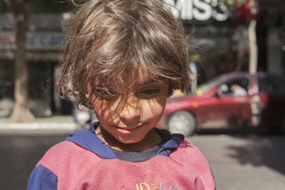 Inara Khulood Arwa Damon Syrian refugee