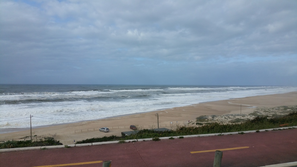 L'oceano di Sao Pedro de Moel