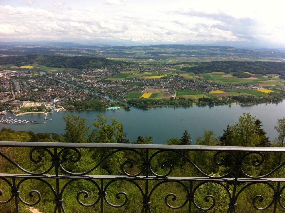 vista dalla mia camera su Bienne