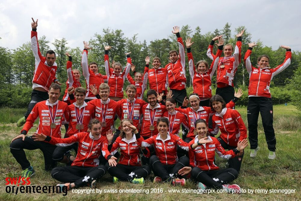 Fantastic Swiss Orienteering Team