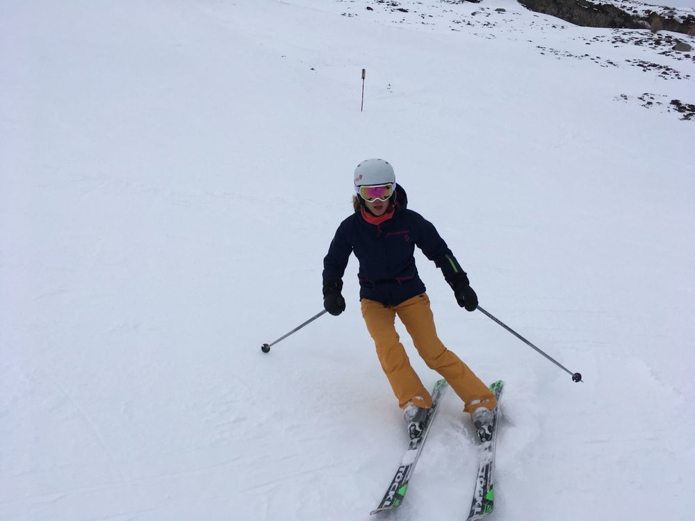 ... e sci alpino!