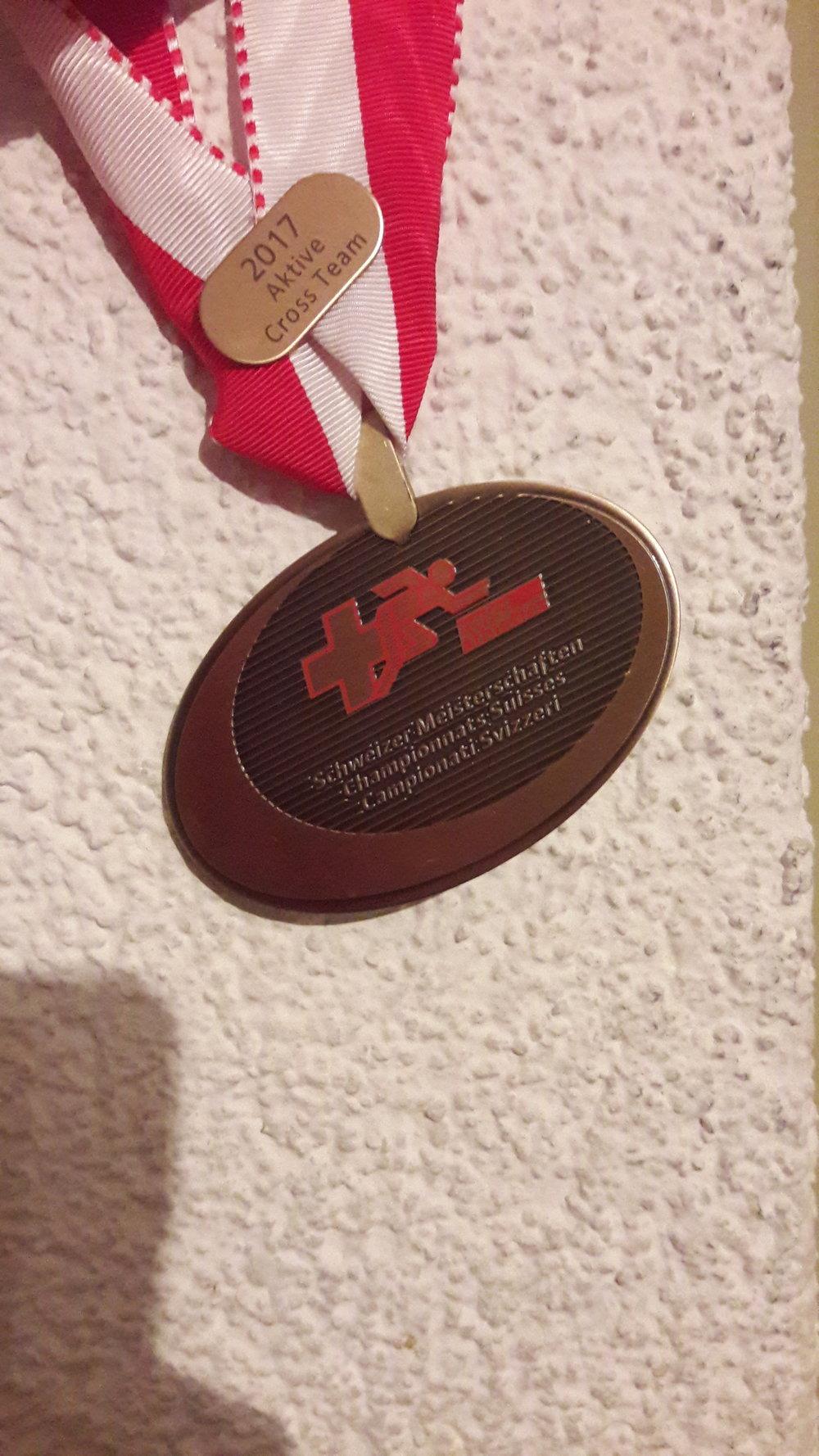 La mia prima medaglia di atletica