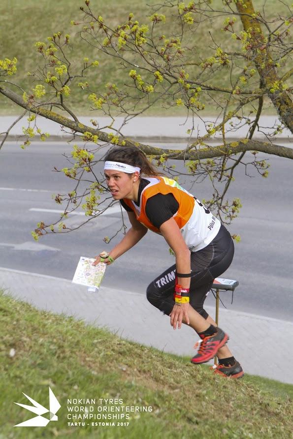 In azione nella sprint
