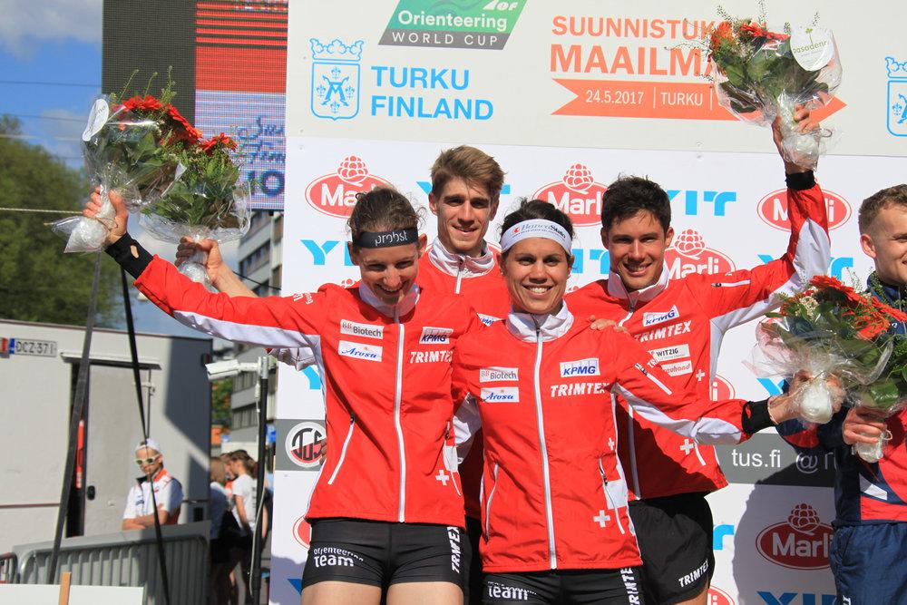 2. rango staffetta sprint a Turku