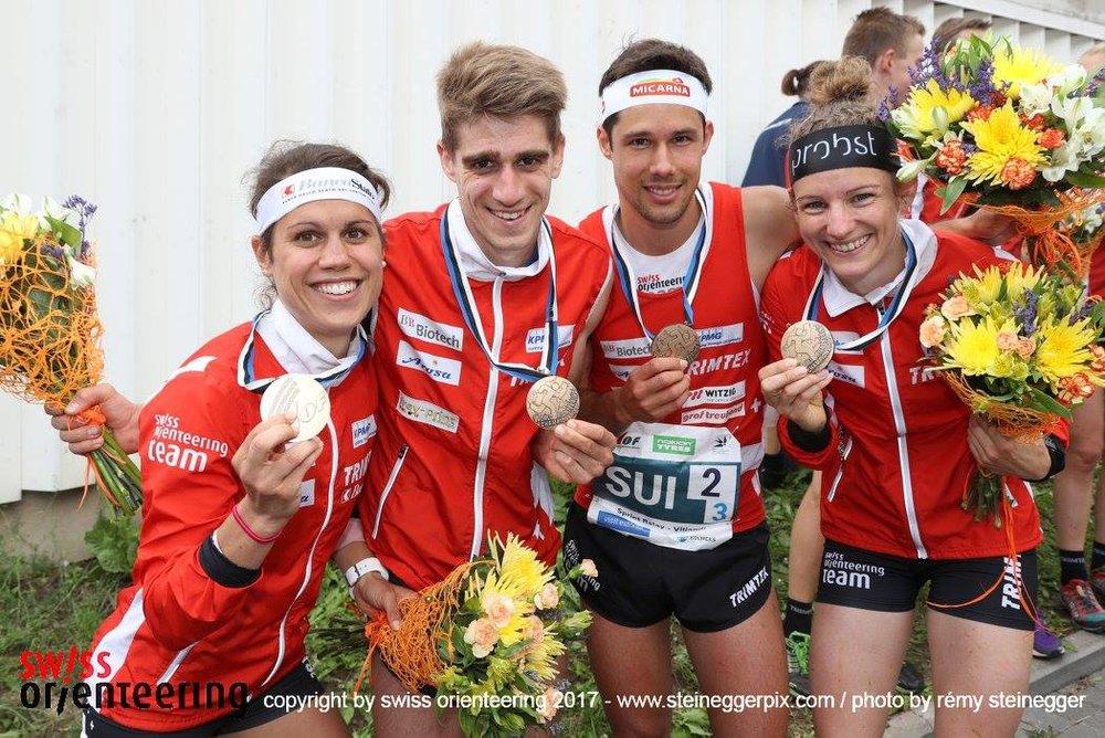 bronzo nella staffetta sprint!