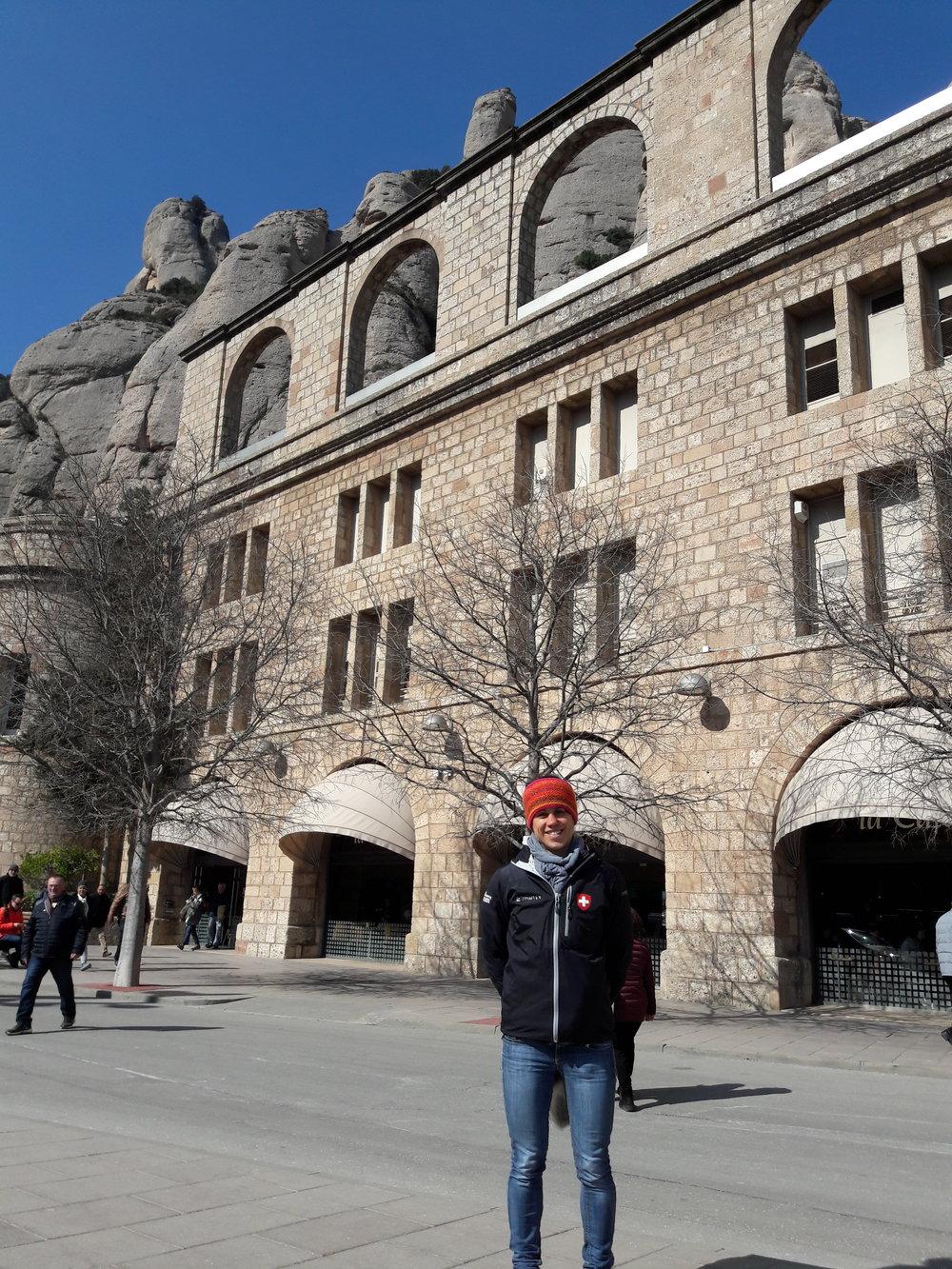 Visitina al convento di Montserrat
