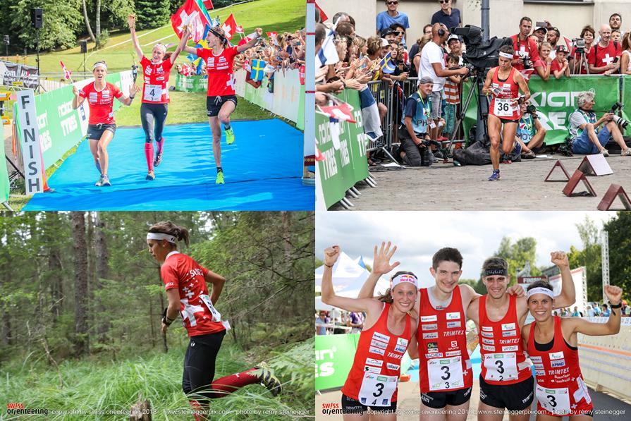 Campionati mondiali di CO in Lettonia:  1. staffetta; 2. staffetta-sprint; 4. Sprint; DNF Long
