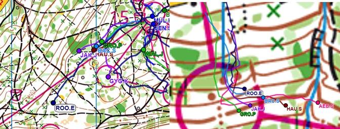 Immagine 1: davanti  Immagine 2: quart'ultimo punto e dietro