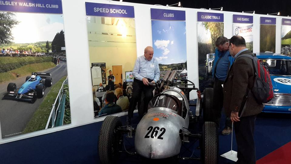 Sir Sterling Moss was particularly taken with our Farley JAP.
