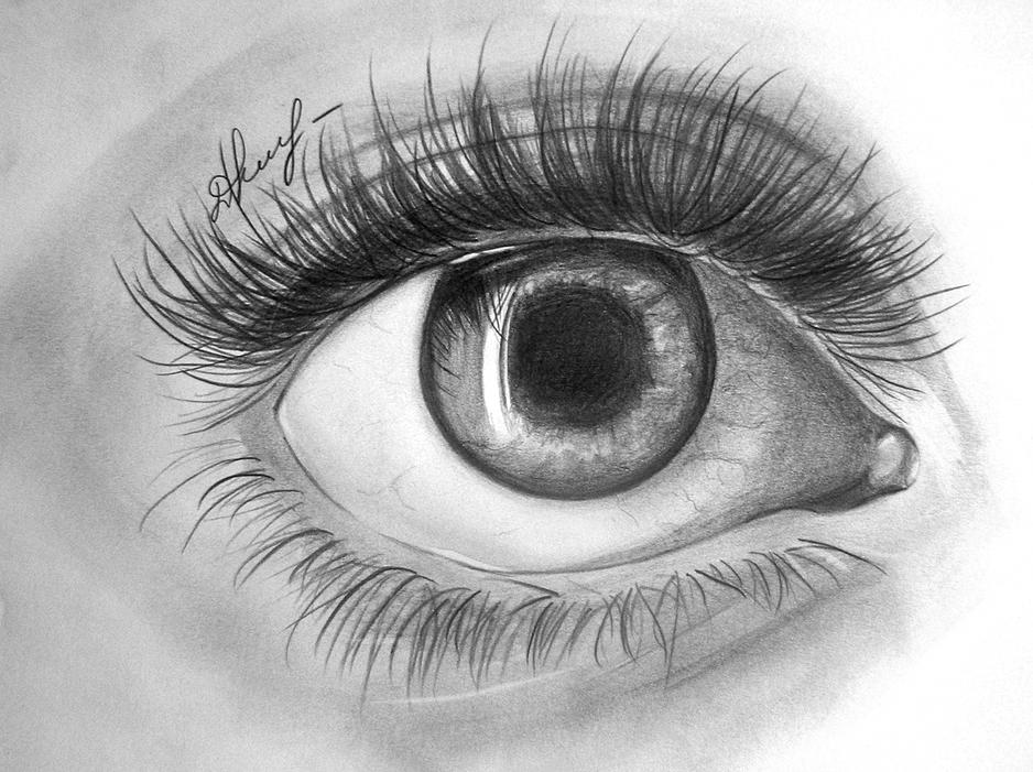 ''Realistic eye'' - pencil 2012