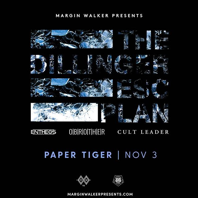 On sale today #dillingerescapeplan