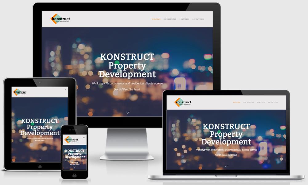 Featured website - Konstruct Property Development