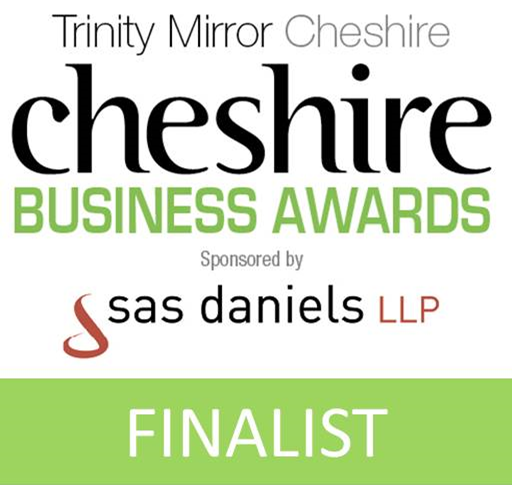 I'm a finalist! Winners to be announced 6th October