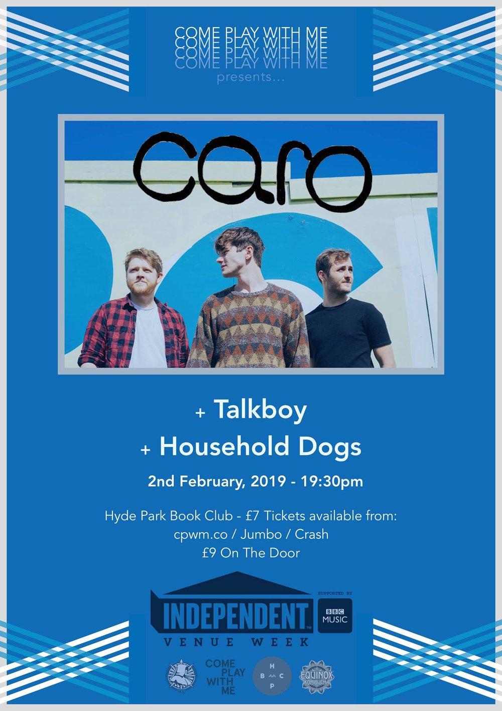 cd9cccb5848a Caro   Talkboy   Household Dogs