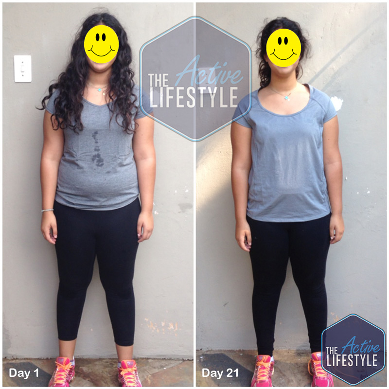 G's progress pictures were achieved during our 21 day Kickstart Program, check out her self-confidence and posture!