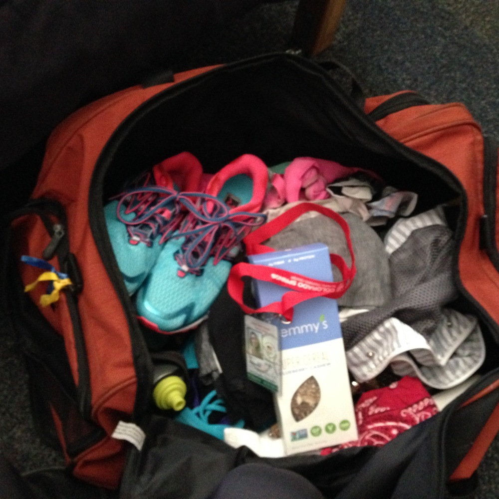 Pack your bags like you want to be ACTIVE!