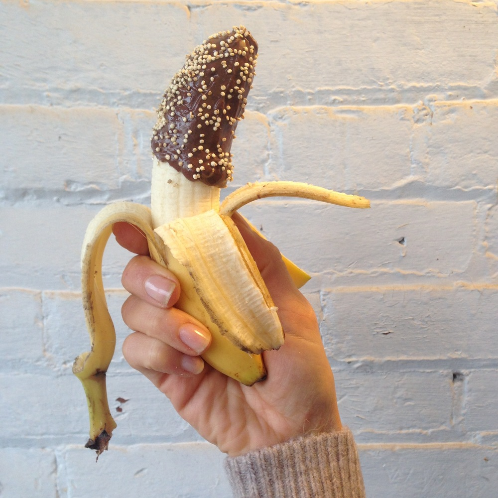 Chocolate + Banana + Toasted Quinoa!
